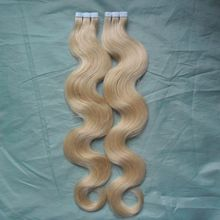 Brazilian Skin Weft Tape Hair Extensions 200g Skin Weft Tape Hair Extensions 80pcs Queen Hair Brazilian Body Wave 613 Blonde Hair Products