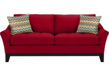 Classic Velvet Scroll Arm Tufted Button Chesterfield-Style Sofa ...