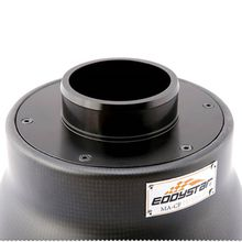 For Volkswagen VW Lamando 1.4T 2014 EDDYSTAR New Style Carbon Fiber Air Intake System Air Filter With Sheild Include Rubber Pipe