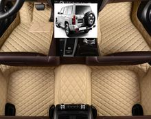 Waterproof Leather XPE Car Floor Mats Mats for Nissan Patrol Y 61 2005-2013