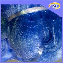 nylon multifilament or double knot monofilament perfect shine excellent softness tight knot fishing net