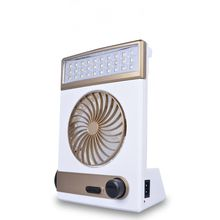 Solar 3 in 1 Multi-function Solar Fan Portable Rechargeable Mini Fan with 30 leds LED Table Lamp Flashlight Solar Light for Home Emergency