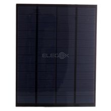 5W 12V PET Laminated Solar Cell Panel Mini Polycrystalline Solar Cell Size 210*165mm for DIY Solar System and Education