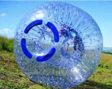 ( specialty store) zorb ball 2.5 M and 3 Mdiameter human hamster ball 0.8 mm PVC material outdoor game inflatable ball inflatable toy