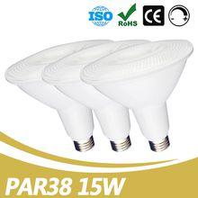 China PAR38 Supplier Led Flood Light Par38 85lm/w 15W Dimmable Led Light Bar UL ES Listed