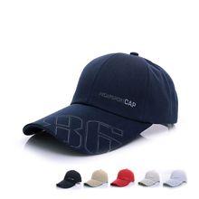 2018 Sale Rushed Ball Cap baseball cap men sports canvas Summer Fashion Men golf Hats letter long peak baseball cap