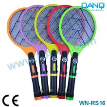 WN-RS16 recharegable mosquito swatter with led torch and light