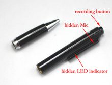 Digital Voice Recorder Pen Audio Recording Pen MP3 Player Stereo Dictaphone N16 Pen 4GB/8GB