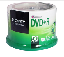 SONY SONY original pack DVD+R 4.7G 16X DVD burn disc blank disc