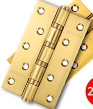 Exchange dragon [2 tablets] door stainless steel hinge 5 inch bearing 3.0 thickness 3053b-4bb 2 piece - PVD gold