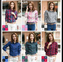 Female College style women's Blouses