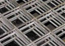 reinforcing steel bar mesh for concrete foundations