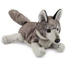 Big wolf plush toys
