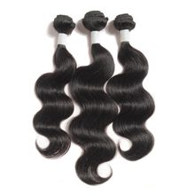 Unprocessed Body Wave Brazilian Human Hair Wave, No Tangle Cuticle Aligned Double Weft Human Hair Extension
