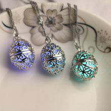 2018/19 Free shipping! Wish tree source wholesale life tree hollowed out pendant silver hollowed out pendant creative luminous stone jewelry
