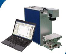 10w metal fiber laser marking machine