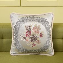Plant flowers Gift wrap pillow case Foursquare Throw Sofa Cushion Cover 18X18 Inches