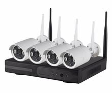 insoer 2mp Wifi Security Camera 4ch Wifi NVR Kit Home Security System