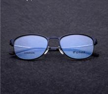55d956906eb4 ... Titanium Glasses Frame Men Ultralight Brand Designer Male Vintage Round  Prescription Eyeglasses Full Optical Frames Eyewear