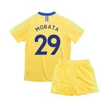 Children Chelsea shirts sets 2019 kid soccer jersey Giroud Kante Moses Willian Hazard Fabregas football jerseys kit