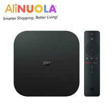 Global Version Xiaomi Mi Box S Android 8.1 4K HDR Android TV 8.1 Ultra HD 2G 8G WIFI Google Cast Netflix IPTV Black Internet Tv Receiver