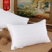 2015 hot cushion neck pillow 100% cotton high quality mulberry silk