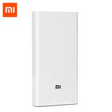 Original Xiaomi Power Bank 20000mAh 2C QC3.0 Dual USB for Mobile Phones