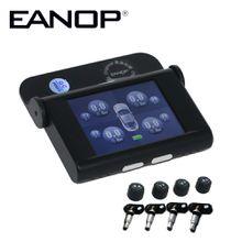 EANOP EN368 Car TPMS Tire Pressure Monitoring System Internal External Sensors ADAS Alarm Max 5Bar 73PSI Big LCD Screen