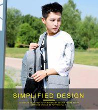 Hot style leisure travel backpack men's multi-purpose Korean notebook bag satchel couple bag women's crossbody bag