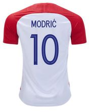 Croatia 2018 World Cup home football uniform Modric Mandzukic Perisic Kovacic Rakitic soccer jersey