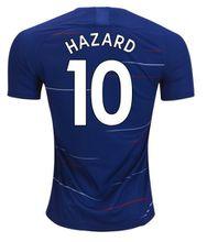 Hazard soocer jersey 2019 Home blue FABREGAS MOSES KANTE GIROUD Morata football shirts