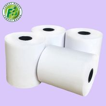White Color Thermal Paper 57mm Size 57 x 50mm POS Cash Register Paper Rolls