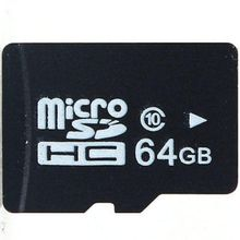 100pcs free dhl 64GB Micro SD SDXC Flash Memory Card Class 10 Micro SD With Adapter Retail Box