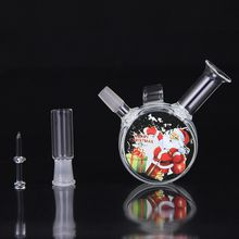 10mm Joint Glass Water Pipes Bongs Oil Rigs Glass Bongs 8cm Heigth Water Pipes Free Shipping MS007