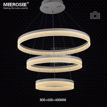 Modern LED Ring Pendant Light Arcylic Circle Contemporary LED Pendant Suspension Light Fixture MD5060 LED SMD5050
