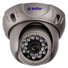 Safer 2.0MP IP Dome Camera Network Security Indoor 24IR Night Vision