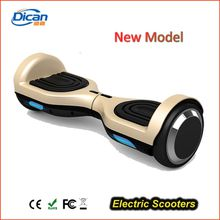 Fashionable smart E-Scooter two weels self balance segboard max load 120kgs 4.4ah LG/China battery new design for easy branding
