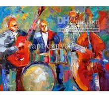 knife-oil-painting-Jazz-oil-painting-Music-oil-painting-canvas-painting-Pop-art-handmade-painting-012