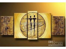 Free shipping MODERN ABSTRACT CANVAS ART Portrait art decoration oil painting new arrival P5423