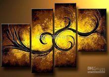 Modern Oil Painting On Canvas abstract painting Guaranteed 100% Free shipping YP656