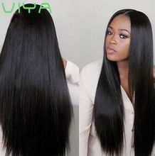 VIYA Indian Virgin Human Hair Straight Hair Extension Unprocessed Human Hair 3 Bundles Free Shipping 10-30 Inch WY831H