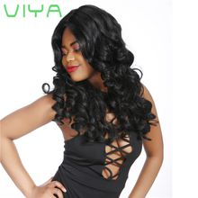 VIYA Mongolian Virgin Human Hair Loose Wave Hair Extension Unprocessed Human Hair 3 Bundles Free Shipping 10-30 Inch WY831H