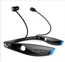 Bluetooth headset with microphone, Bluetooth 4.1 support Bluetooth headset, drag two cars