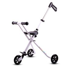 Folding stroller folding tricycle portable sitting chair