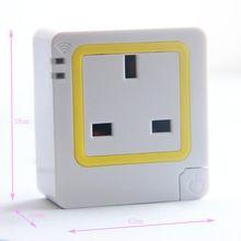 Socket Smart Monitor invigilator Watcher WiFi Wireless Smart Power Strip Sockets EU US Plug
