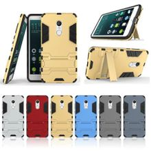 Heavy Duty Shockproof Armor Case Cover for Xiaomi Mi Redmi Note 4X Hybrid Dual Layer High Impact Shell with Kickstand Foldable Stand