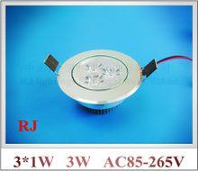 LED recessed ceiling spot light down lamp light downlight AC85-265V 3W / 5W / 7W / 9W / 12W / 15W / 18W CE ROHS aluminum