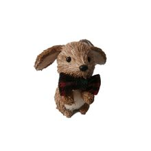 "Alldeco 3.9"" Hanging Cattail Dog"