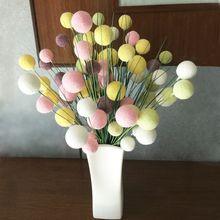 Hydrangea bouquet eternal foam flower decoration mariage mothers day ponpones pompons artesanato boule de fleur organza latex flowers weddin