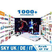 Best IPTV for Arabic Europe italy france 1000 channels,Android tv box set top Sky news bbc Bein Sports on mag250 vu+ ios